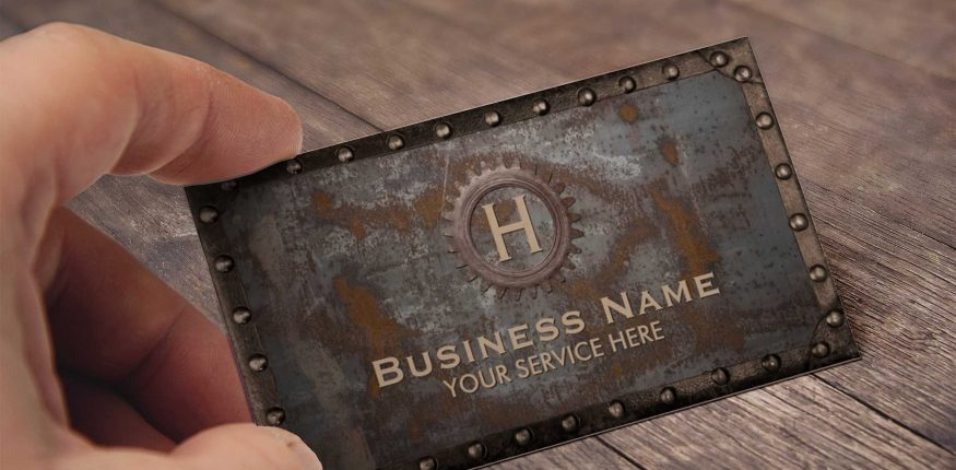 metal business cards austin