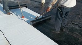 modified bitumen roofing system